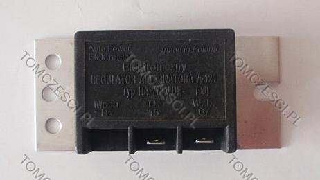 PF 126p + r. napi�cia RA2/12V - Adaptacja regulatora napi�cia z poloneza do 126p