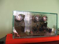 Oszczedna wersja zegara Nixie na PIC16F84