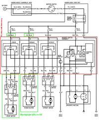 Które kable do czego:( elektr szyby Civic 5 generacja 3d 92r