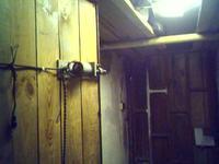 Bezpieczny zamek do piwnicy, zamknięcie do piwnicy
