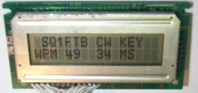 Mikroprocesorowy klucz telegraficzny