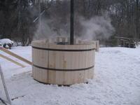 Piec gazowy do ogrzewania zbiornika wodnego 2500litrów.