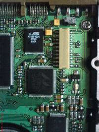Odwrotnie podpięte zasilanie w SAMSUNG ATA 40GB SV4002H