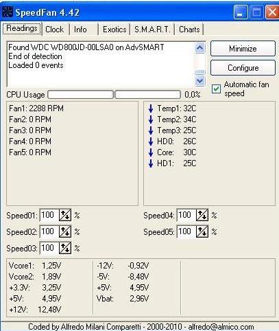 Komputer restartuje się. Płyta główna Gigabyte, Athlon X2 3600+.