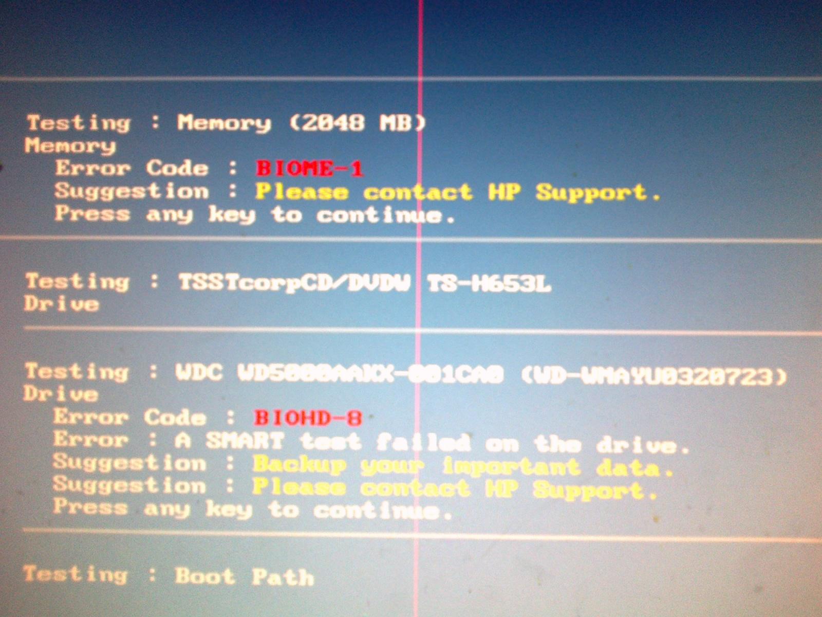Blue Screen przy reinstalacji systemu