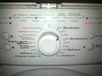 Pralka Whirlpool awo/d 3113/p �wieci si� serwis i inne kontrolki