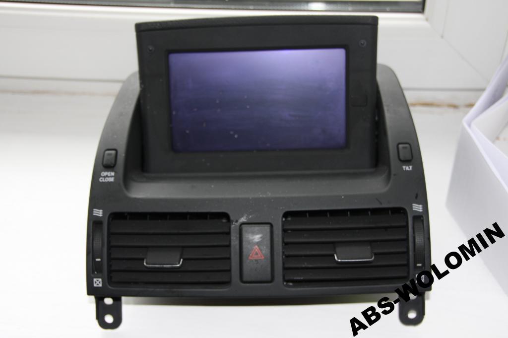 Toyota Avensis T25 2003 - Wykorzystanie ekranu nawigacji jako monitora
