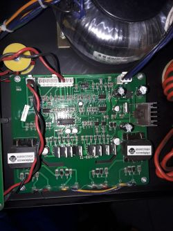SPARTUS MIG350H nie spawa pełną mocą