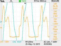 Pomiar mocy czynnej układu beztransformatorowego