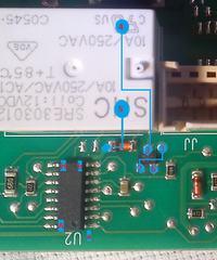 Zmywarka/AEG/Favorit86080 - Brak sterowania przeka�nika napi�ciowego od grza�ki.