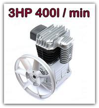 Kompresor - 50 l butla - 2 t�oki - 500-1200 z�