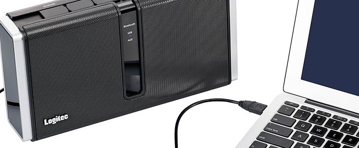 Logitec LBT-AVP7000 - przewodowy/bezprzewodowy g�o�nik z USB DAC i Bluetooth