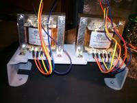 Wzmacniacz lampowy Push Pull ECC83, EL84