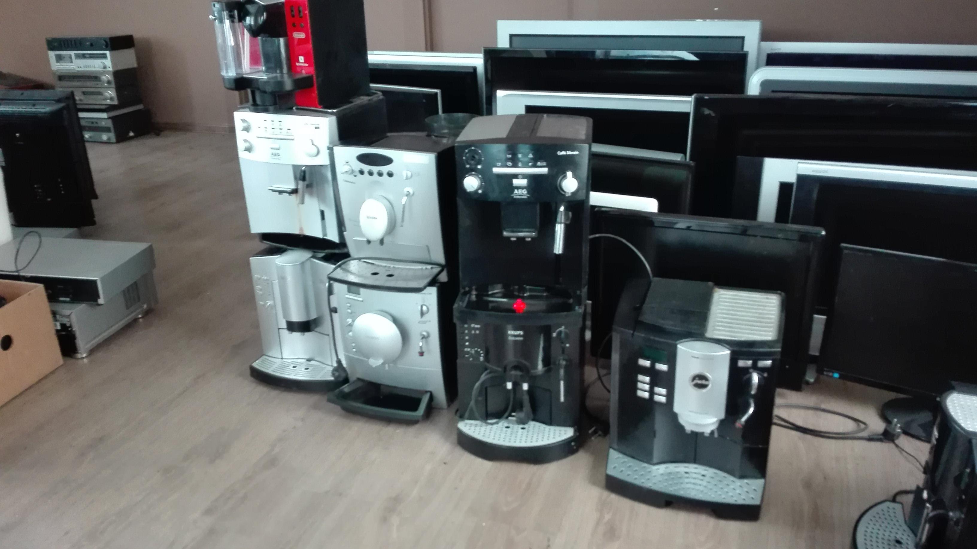 Poważne Sprzedam] Używane telewizory, ekspresy do kawy ciśnieniowe. QF48