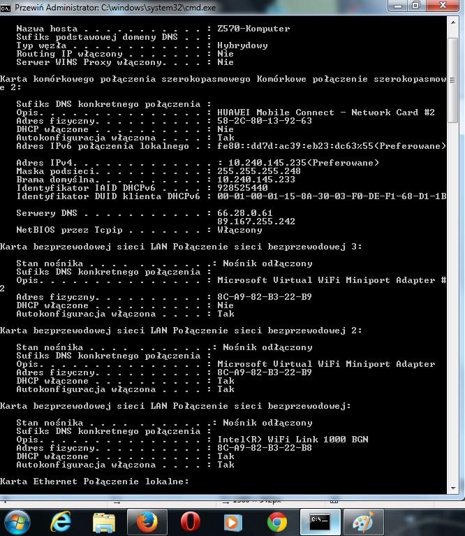 MODEM HUAWEI E3131 HiLink - jak skonfigurować z francuską kartą