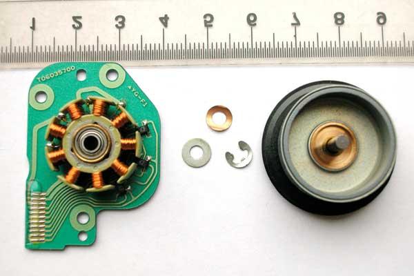 Opis wyprowadze� silnika BLDC DVD-ROM