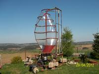 Turbina savoniusa-jaką moc mógłbym z niej uzyskać?