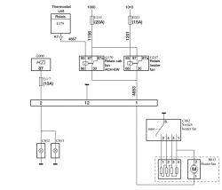 Daf XF 105 410 2007r. - Nie działa wentylator kabiny (nagrzewnica)