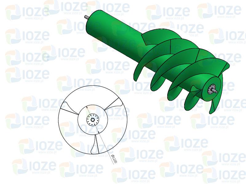 Pierwsza w ca�o�ci zaprojektowana i wyprodukowana w Polsce Turbina Archimedesa