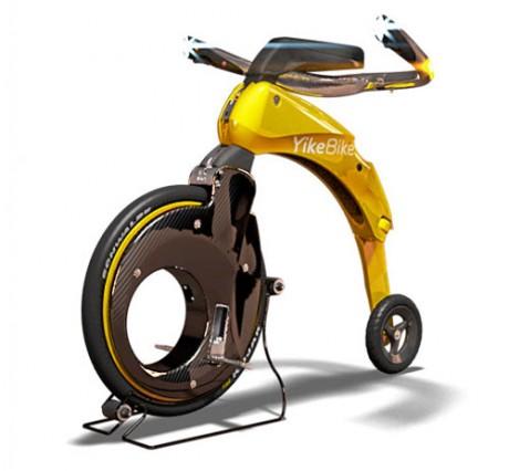 YikeBike - najmniejszy na �wiecie sk�adany rower elektryczny