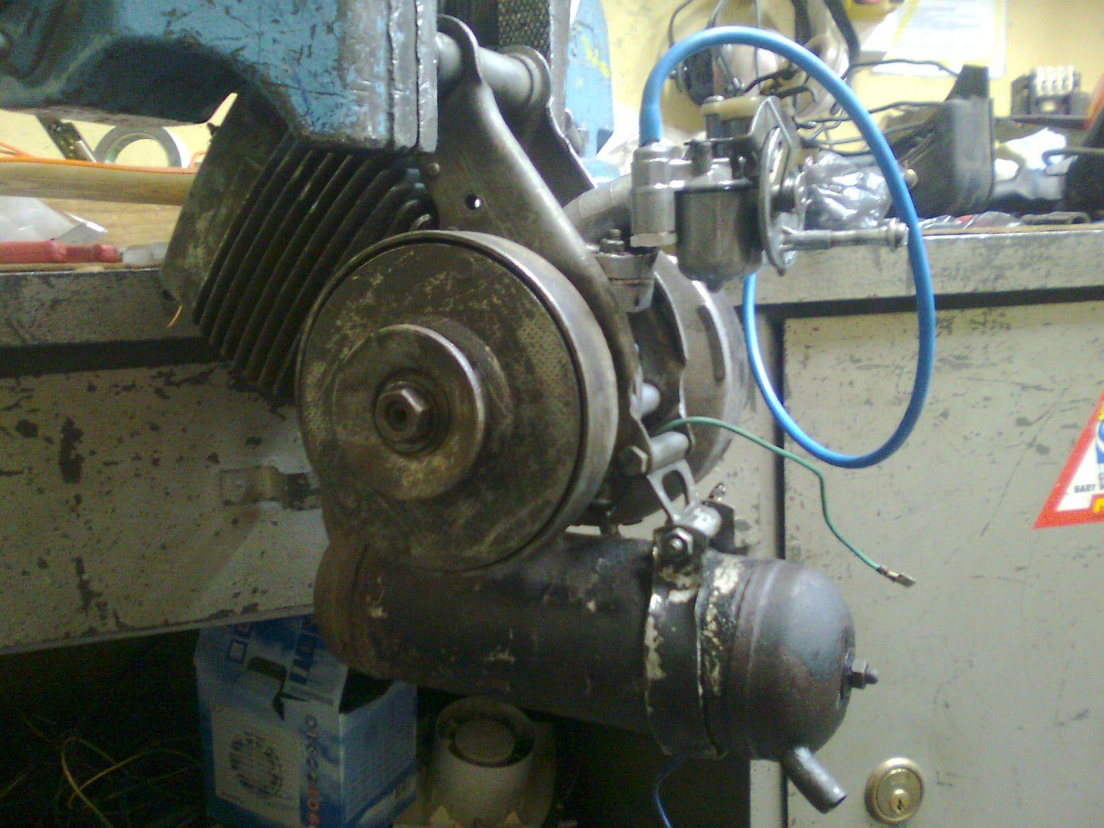 Motorower Peugeot 105- brak iskry, ustawienie zap�onu
