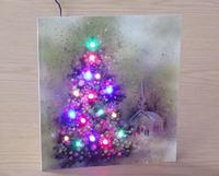 Podstawka LED pod świąteczne pocztówki