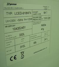 Uszkodzona lod�wka Mastercook LCED-918NFX brak reakcji na zasilanie