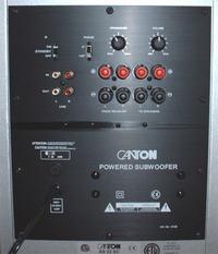 canton as22/HK avr4000 - - podłączenie subwoofera przez RCA