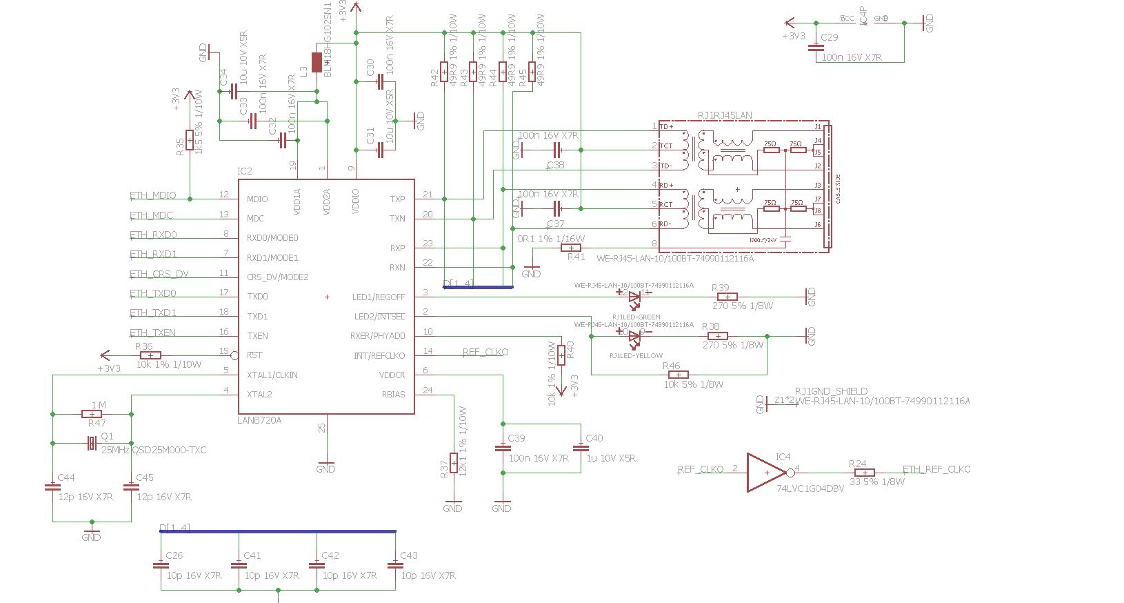 stm32f107 lan8720a ping - nieosiągalne IP - elektroda pl