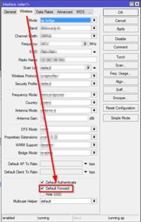 MikroTik Routerboard - Kierowanie ruchem pakietów między interfejsami