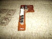 """Migająca trzy razy dioda przycisku """"pause"""" Deck Aiwa AD-F410"""