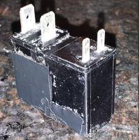 Miele W726 - Przekaźnik elektromagnetyczny grzałki