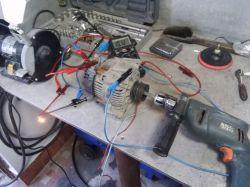 Mecedes A140 W168 - opóźnione ładowanie akumulatora