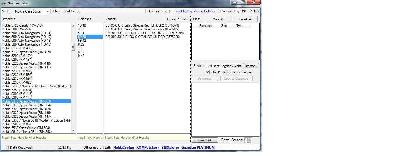 nokia 5310 wgra�em z�e oprogramowanie i pojawia si� contact service