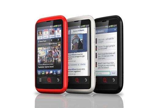 INQ Cloud Touch - jedyny telefon z integracj� Facebooka ju� w sprzeda�y