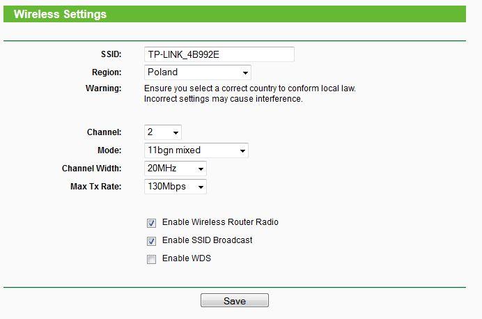 tp-link 740n spowalnia internet