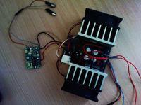 [Sprzedam] Ko�c�wka mocy na mosteku tda7294 + filtr do subwoofera.