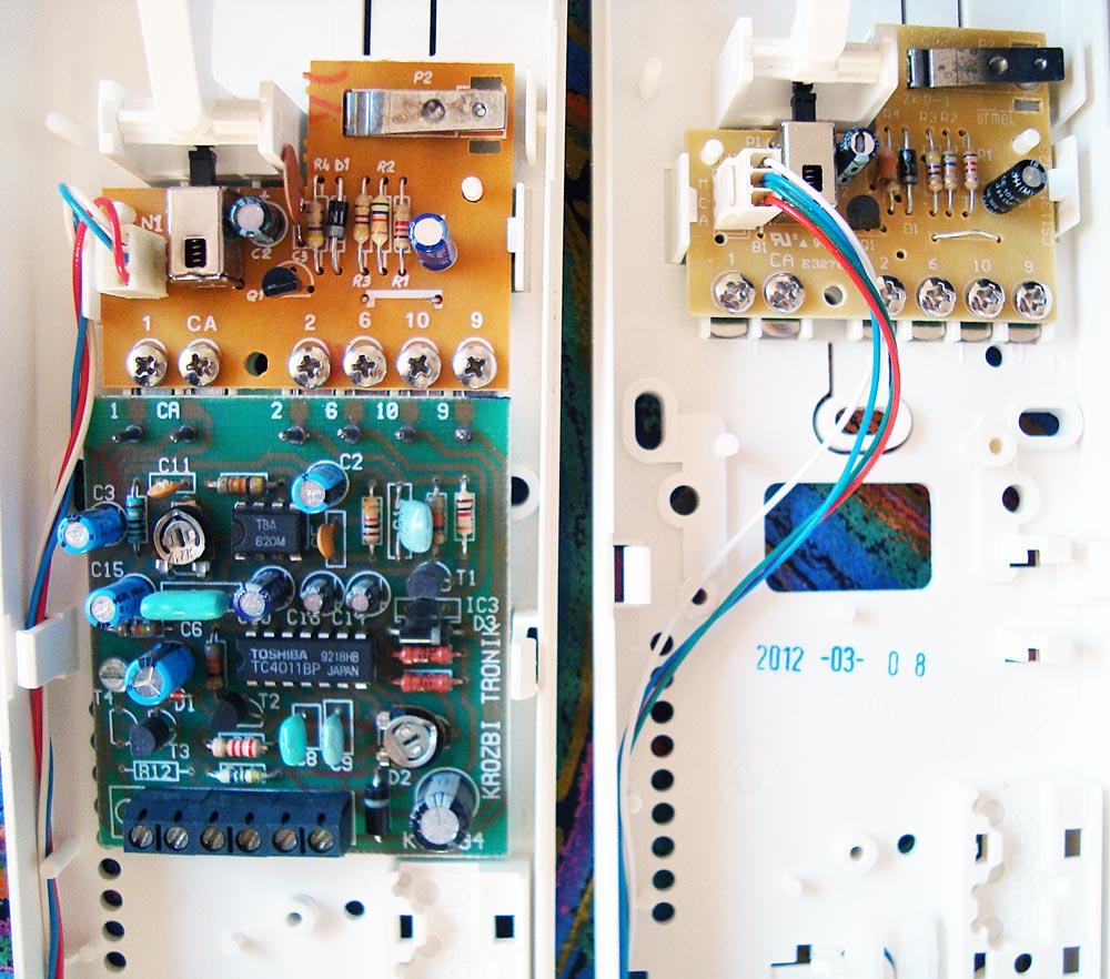 Urmet 1131 - Dodatkowa elektronika w �rodku Krozbi Tronik