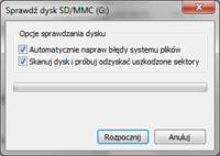 SD 1GB extreme memory - usterka
