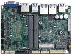 """LE-37M - jednopłytkowy komputer 3.5"""" z Coffee Lake"""