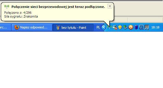 Jak pod�aczy� do wi-fi drugi notebook przez router TL-WR740N TP-LINK
