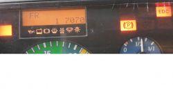 Atego 815L 2000r Anomalia elektryczne. Nie pokazuje aktualnego stanu paliwa .