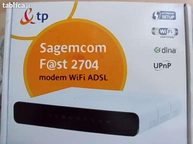 Konfiguracja sagemcom f@st 2704, PC nie widzi kabla ethernet,