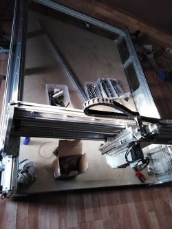 DIY CNC milling machine, another raspberry ..