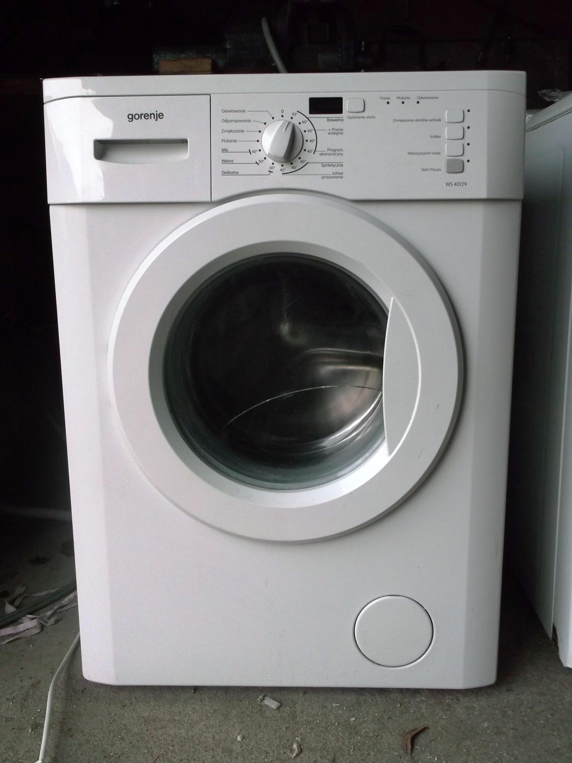 [Sprzedam] Silnik,b�ben,krzy�ak,fartuch,zbiornik pralki Gorenje WS40129