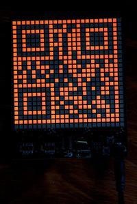QR Clock - zegar wy�wietlaj�cy czas w formie kodu QR