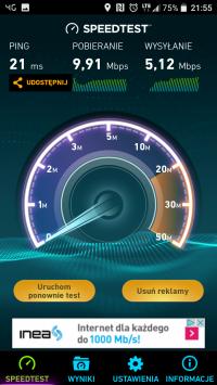 Router LTE z wejściem na kartę sim oraz antenę zewnętrzną