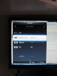 Samsung T24A550 nie ma dźwięku
