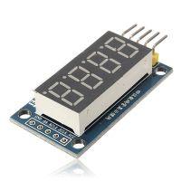 Wyprowadzenia wyświetlacza LED 8 segmentowy 4 cyfrowy.