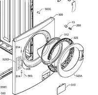 Electrolux EWF 10040W blokada drzwi.